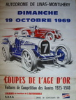 poster 1969 coupes age or bugatti alfa xl