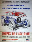 poster 1969 coupes age or bugatti alfa a xl