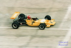 A 75 FII Lotus 69  Kumschick Montlhéry juin 1991  G P Age d'Or